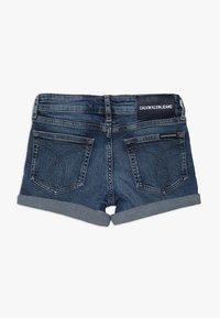 Calvin Klein Jeans - SLIM SHORT  - Denim shorts - denim - 1