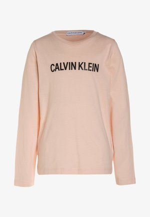 LOGO REGULAR FIT - Long sleeved top - peachy keen