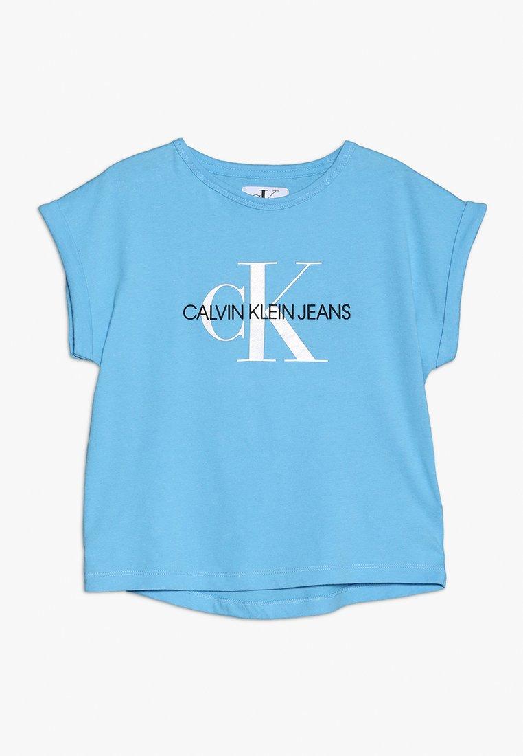 Calvin Klein Jeans - MONOGRAM LOOSE FIT TEE - Camiseta estampada - blue
