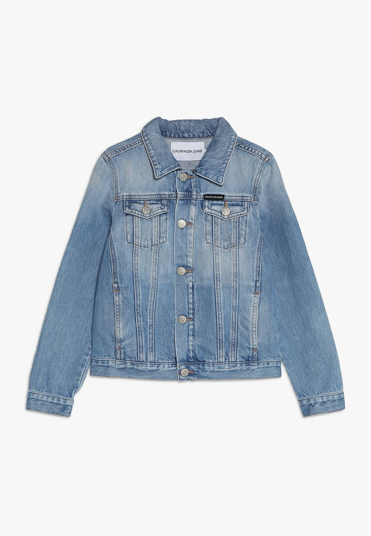 Calvin Klein Jeans - JACKET GIRLS  - Jeansjacka - denim