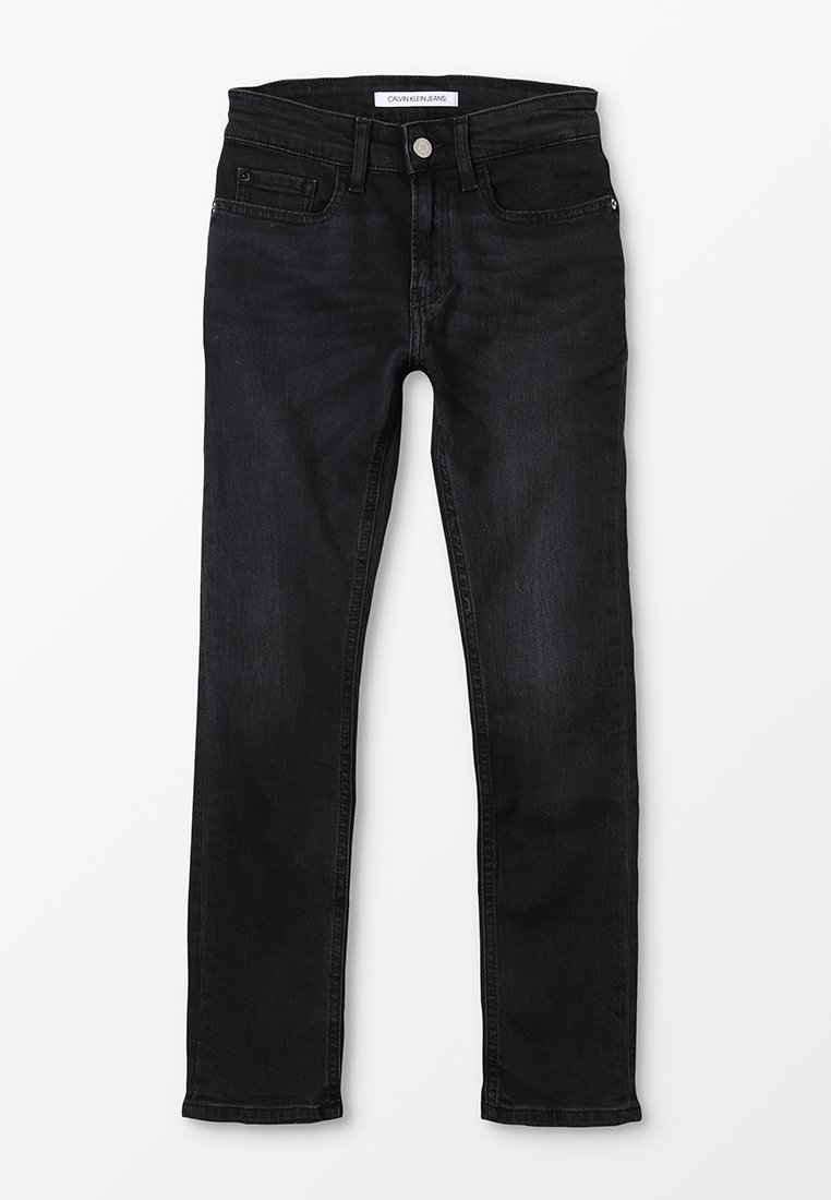 Calvin Klein Jeans - SKINNY JASPER  - Jeans Skinny Fit - black denim