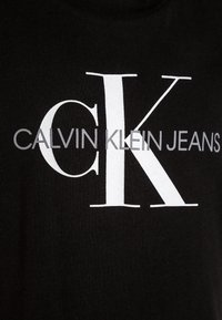 Calvin Klein Jeans - MONOGRAM LOGO REGULAR FIT TEE - T-shirt z nadrukiem - black - 2