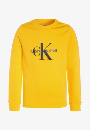 MONOGRAM CREW NECK - Sweater - yellow