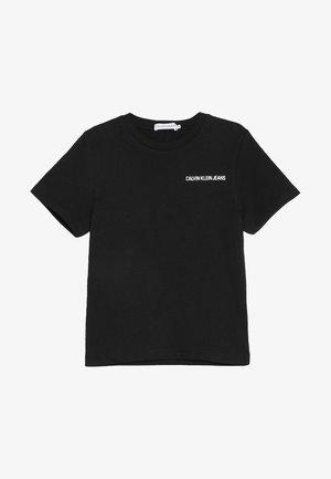 CHEST LOGO REGULAR TEE - T-shirt basique - black