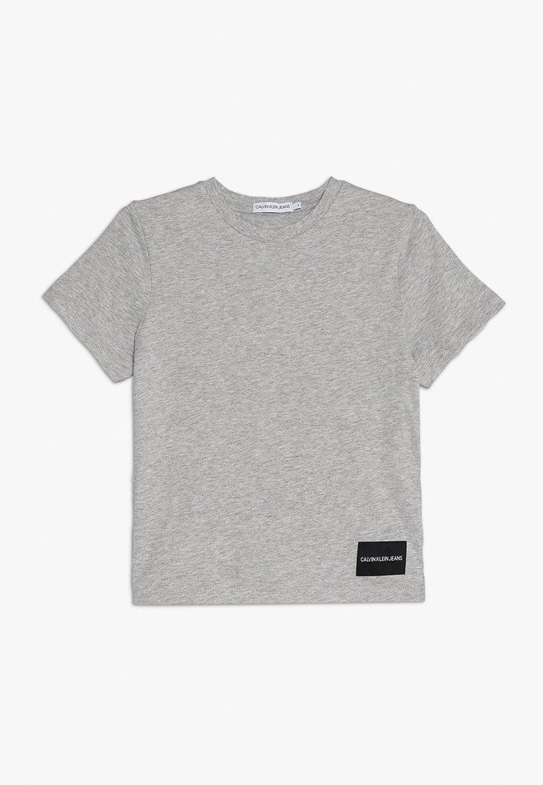 Calvin Klein Jeans - BACK PRINT REGULAR FIT TEE - Print T-shirt - grey