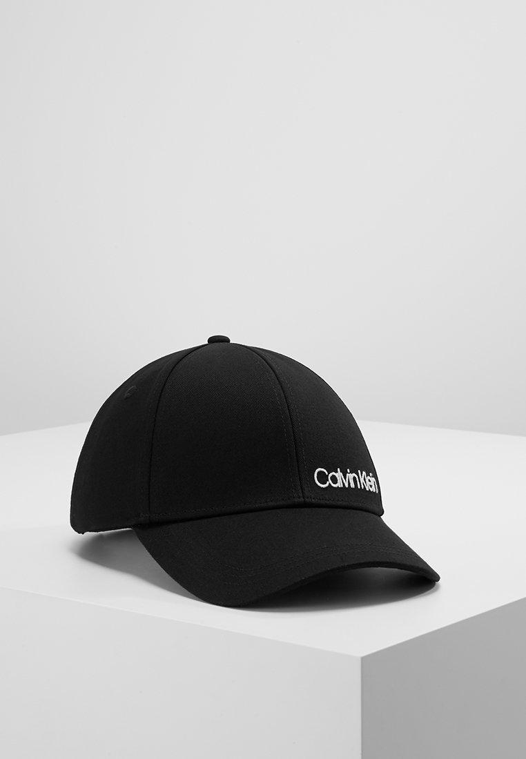 Calvin Klein - SIDE LOGO CAP - Casquette - black