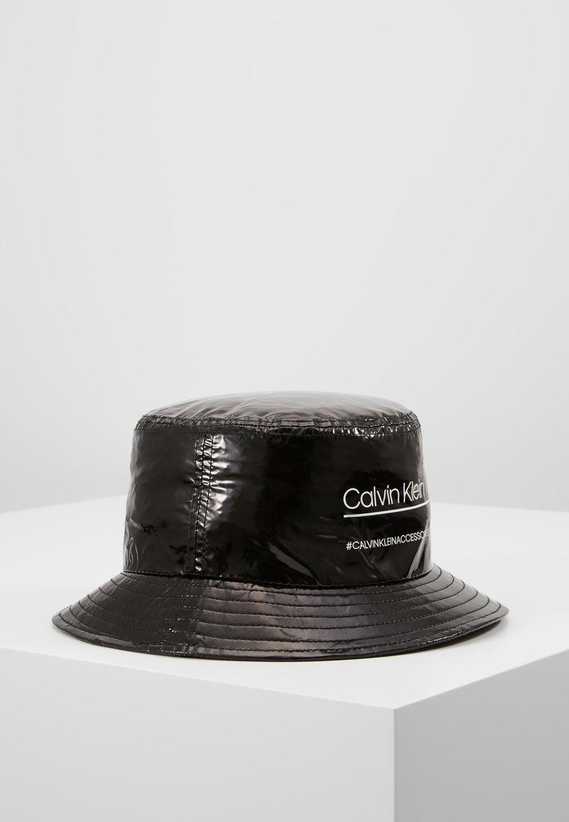 Calvin Klein - BIND BUCKET HAT - Bonnet - black