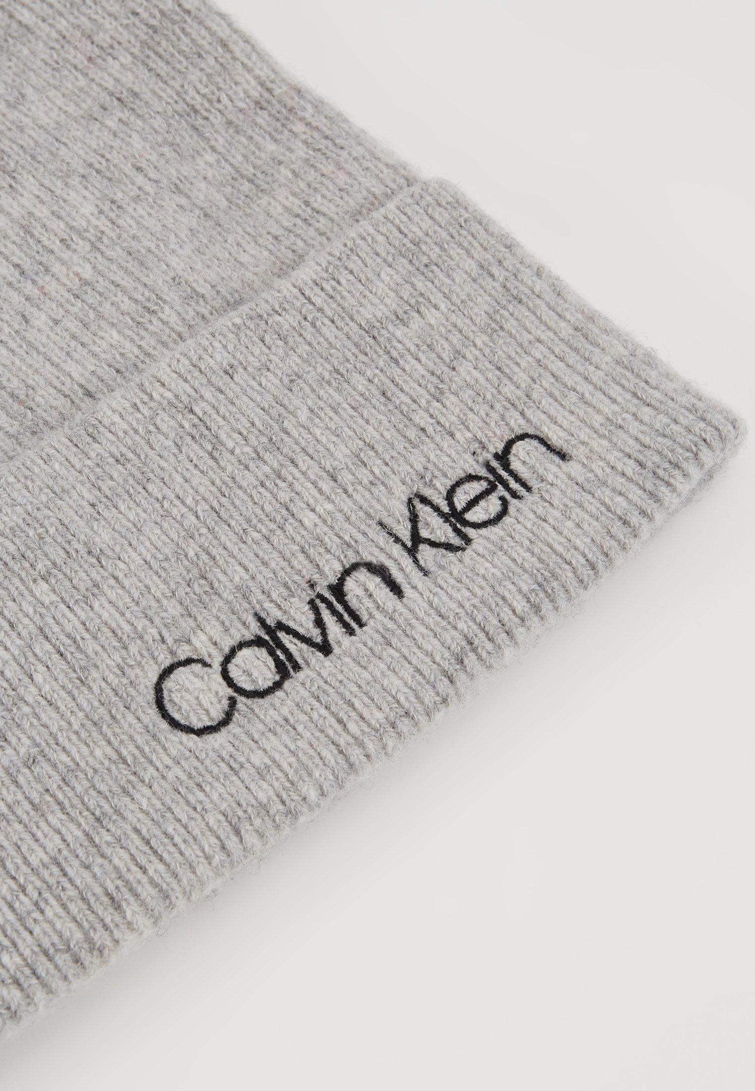 Calvin Klein Boiled Beanie - Lue Grey