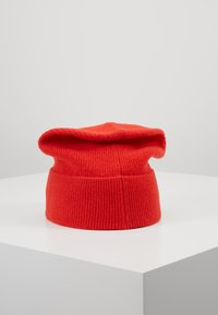 Calvin Klein - BOILED BEANIE - Čepice - red - 2