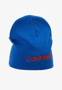 Calvin Klein - CLASSIC BEANIE - Muts - blue - 3