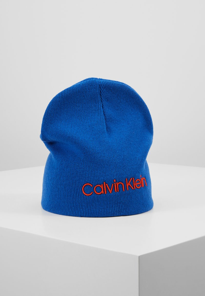 Calvin Klein - CLASSIC BEANIE - Muts - blue