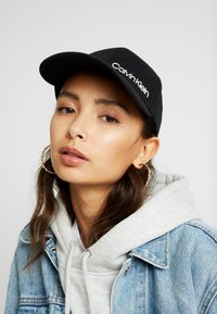 Calvin Klein - SIDE LOGO BASEBALL - Cap - black - 1