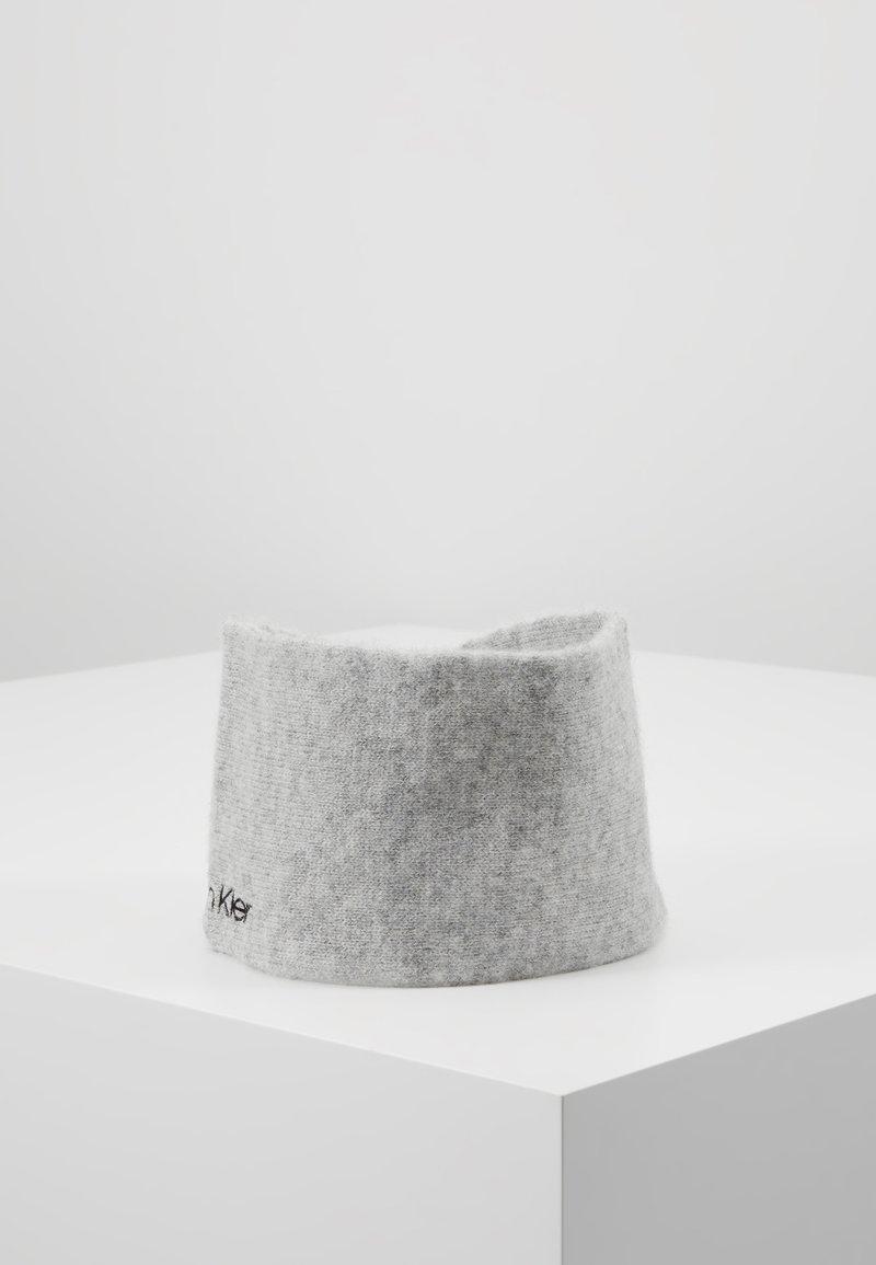 Calvin Klein - BOILED HEADBAND - Orejeras - grey