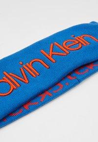 Calvin Klein - INDUSTRIAL MONO HEADBAND - Oorwarmers - blue - 5