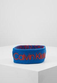 Calvin Klein - INDUSTRIAL MONO HEADBAND - Oorwarmers - blue - 1