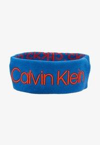 Calvin Klein - INDUSTRIAL MONO HEADBAND - Oorwarmers - blue - 4