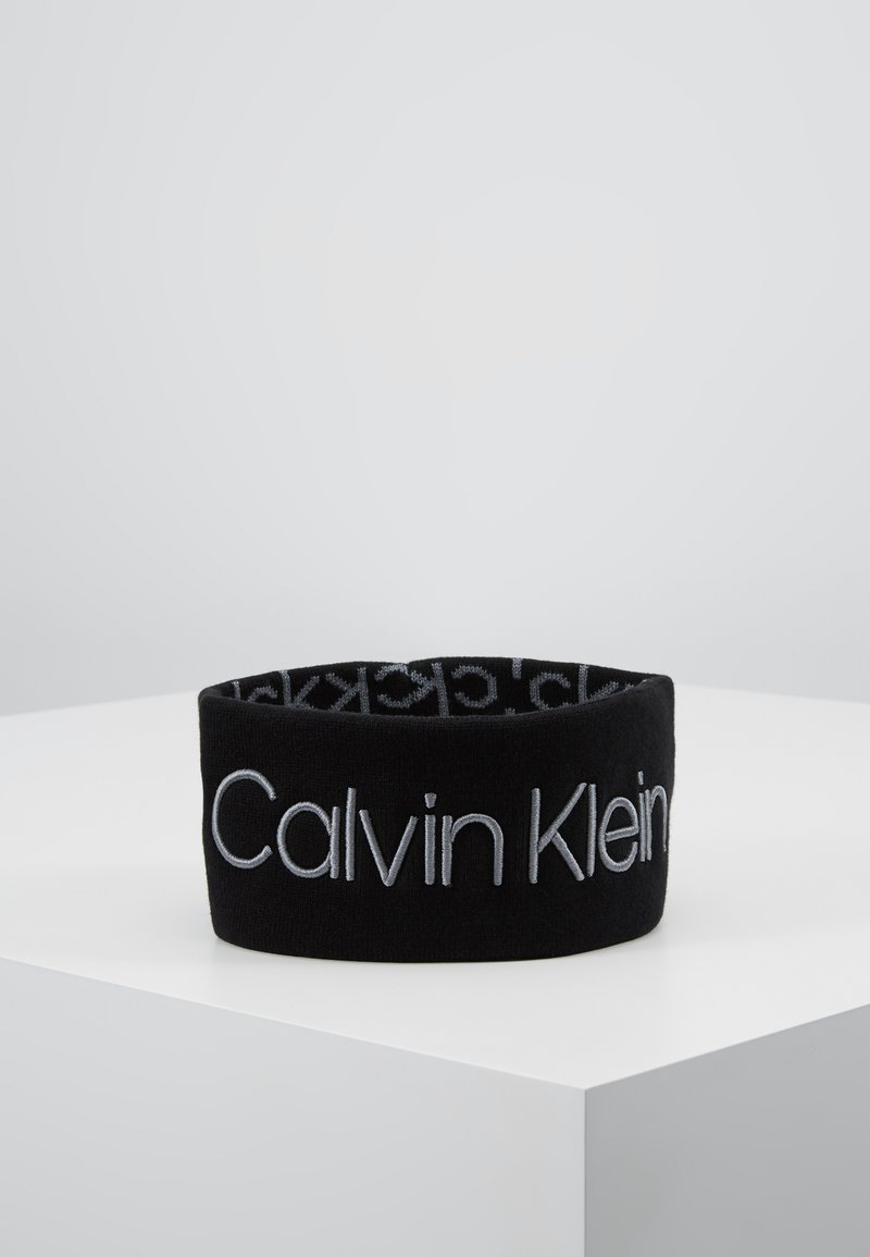 Calvin Klein - INDUSTRIAL MONO HEADBAND - Ear warmers - black