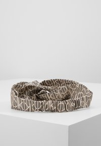 Calvin Klein - DIGITAL PRINT HEADBAND - Hair styling accessory - brown - 3