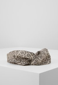Calvin Klein - DIGITAL PRINT HEADBAND - Hair styling accessory - brown - 0