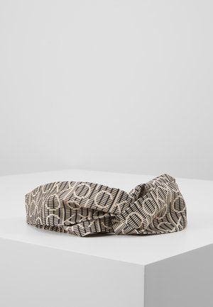 DIGITAL PRINT HEADBAND - Nauszniki - brown