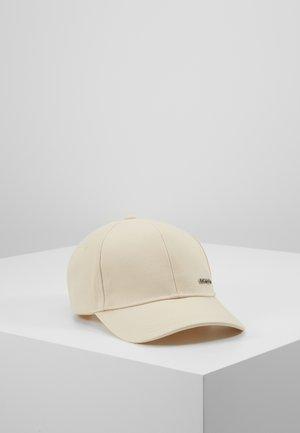 METAL LETTER - Cap - beige