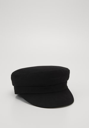 EMBROIDERY LOGO BAKER HAT - Cappello - black