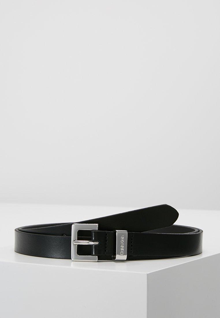 Calvin Klein - LOOP BELT - Gürtel - black