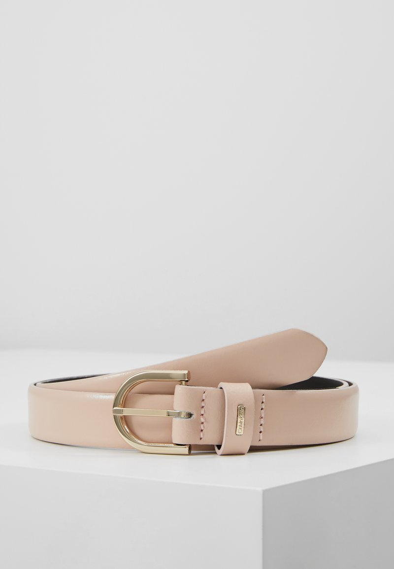 Calvin Klein - FEMININE BELT - Belt - pink