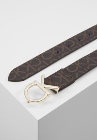 Calvin Klein - MONO BELT - Riem - brown - 2