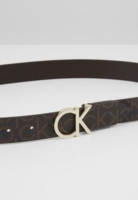 Calvin Klein - MONO BELT - Riem - brown - 4