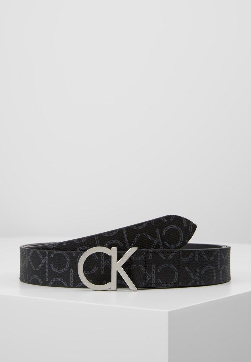 Calvin Klein - MONO BELT - Belt - black mono