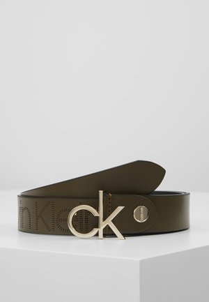 LOW BELT - Pasek - green
