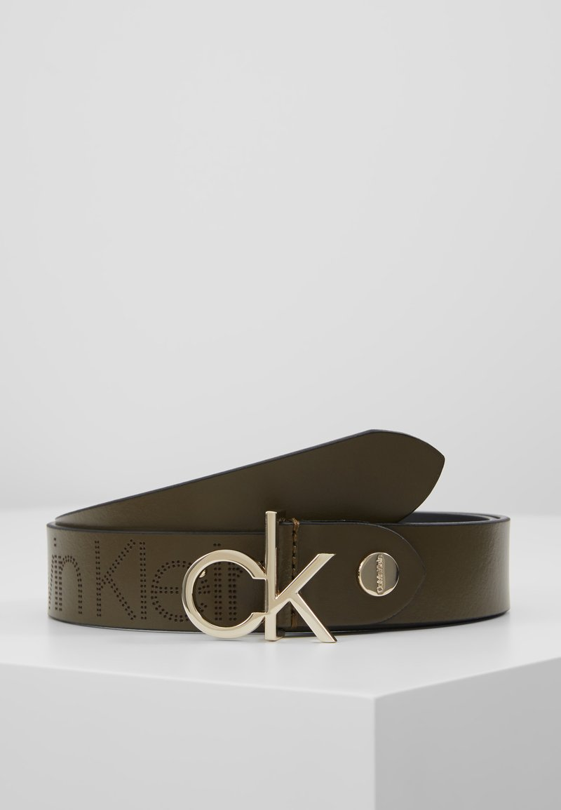 Calvin Klein - LOW BELT - Pásek - green