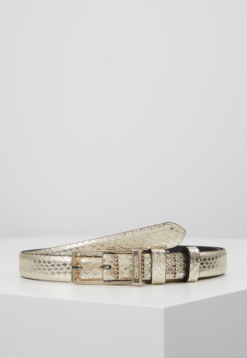 Calvin Klein - WINGED BELT - Belt - beige