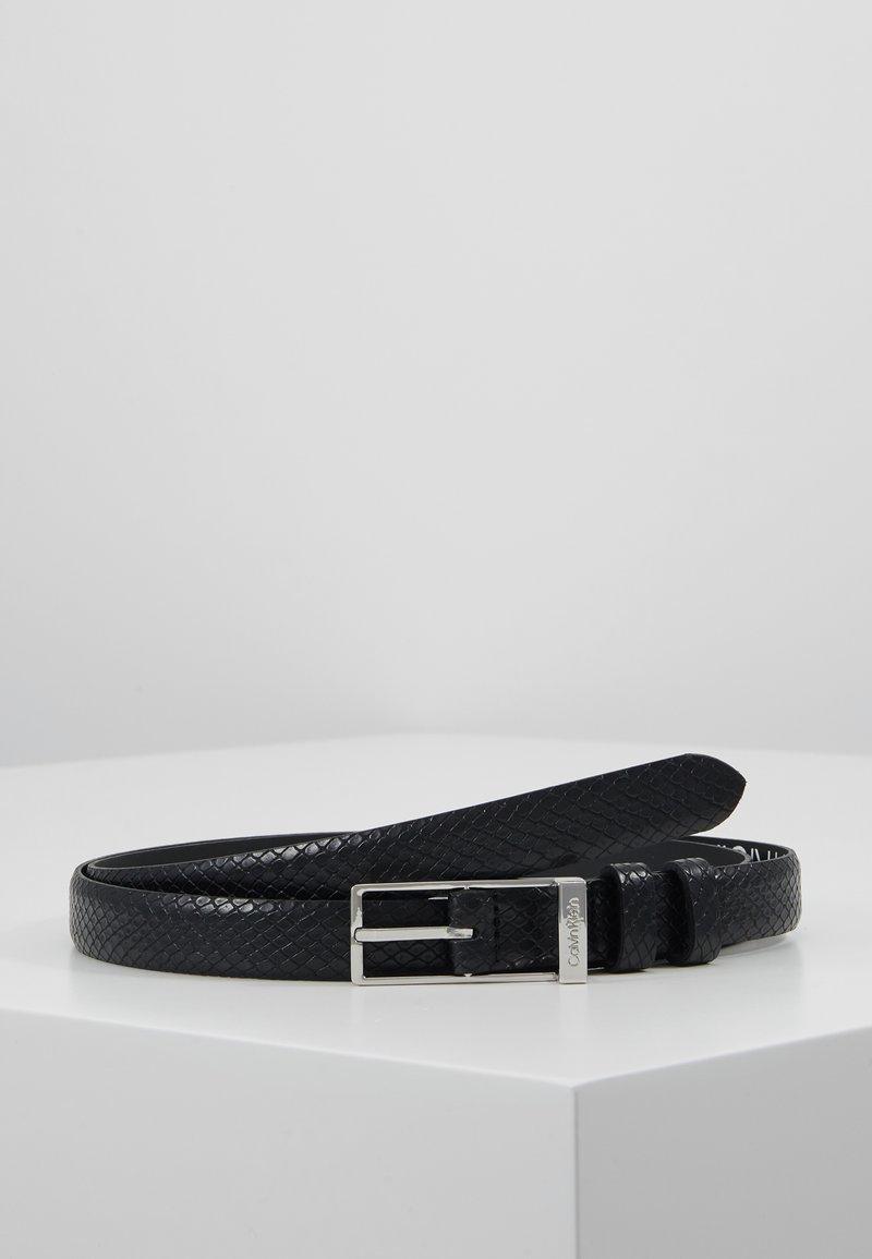 Calvin Klein - WINGED BELT - Ceinture - black