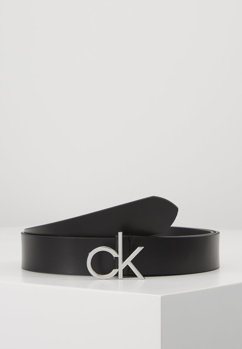 Calvin Klein - RE LOCK LOW  FIXED - Belte - black