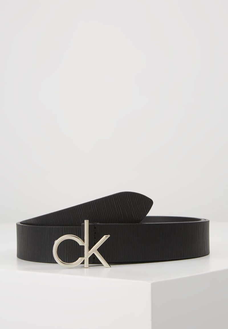 Calvin Klein - RE-LOCK LOW  - Vyö - black