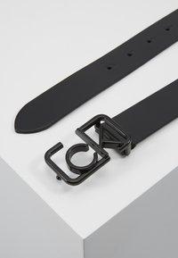 Calvin Klein - SIGNATURE 3CM BELT - Cintura - black - 1