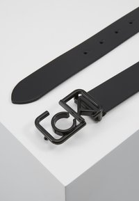 Calvin Klein - SIGNATURE 3CM BELT - Belt - black - 1