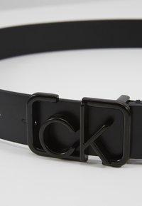 Calvin Klein - SIGNATURE 3CM BELT - Cintura - black - 3