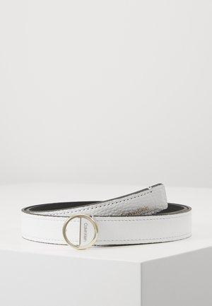HOOP BELT - Belt - white