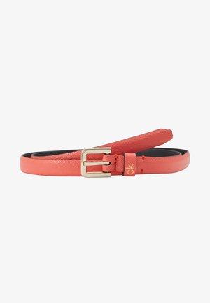 ESSENTIAL BELT - Belte - red