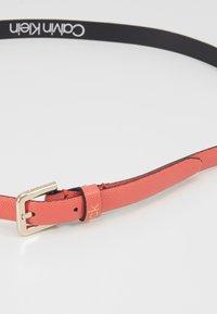 Calvin Klein - ESSENTIAL BELT - Belt - red - 2
