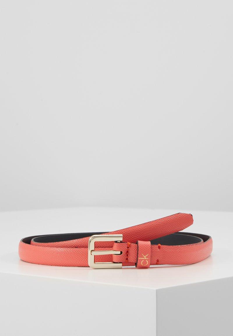 Calvin Klein - ESSENTIAL BELT - Belt - red