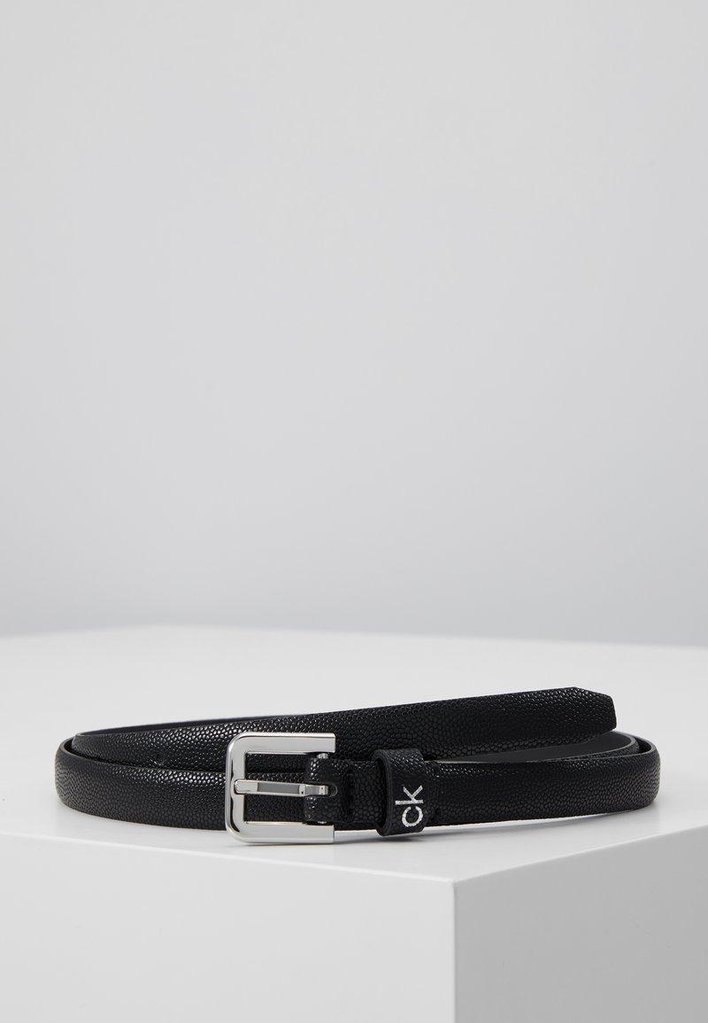 Calvin Klein - ESSENTIAL BELT - Cintura - black