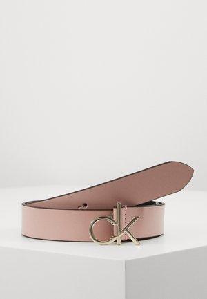 LOGO BELT - Gürtel - pink