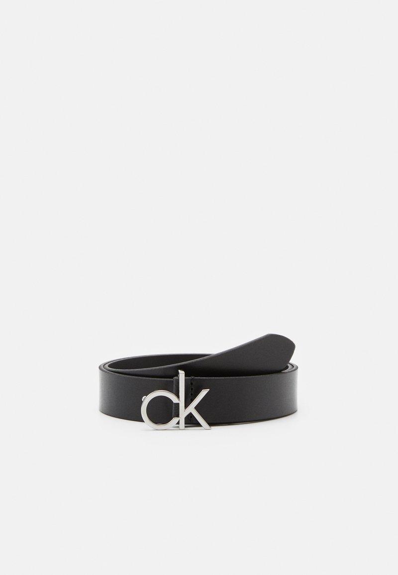 Calvin Klein - LOW FIX BELT - Pásek - black
