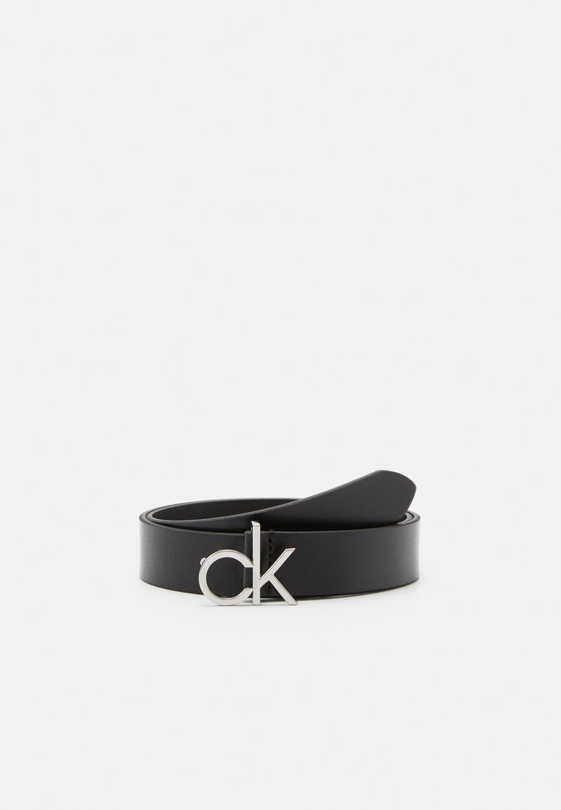 Calvin Klein - LOW FIX BELT - Cintura - black