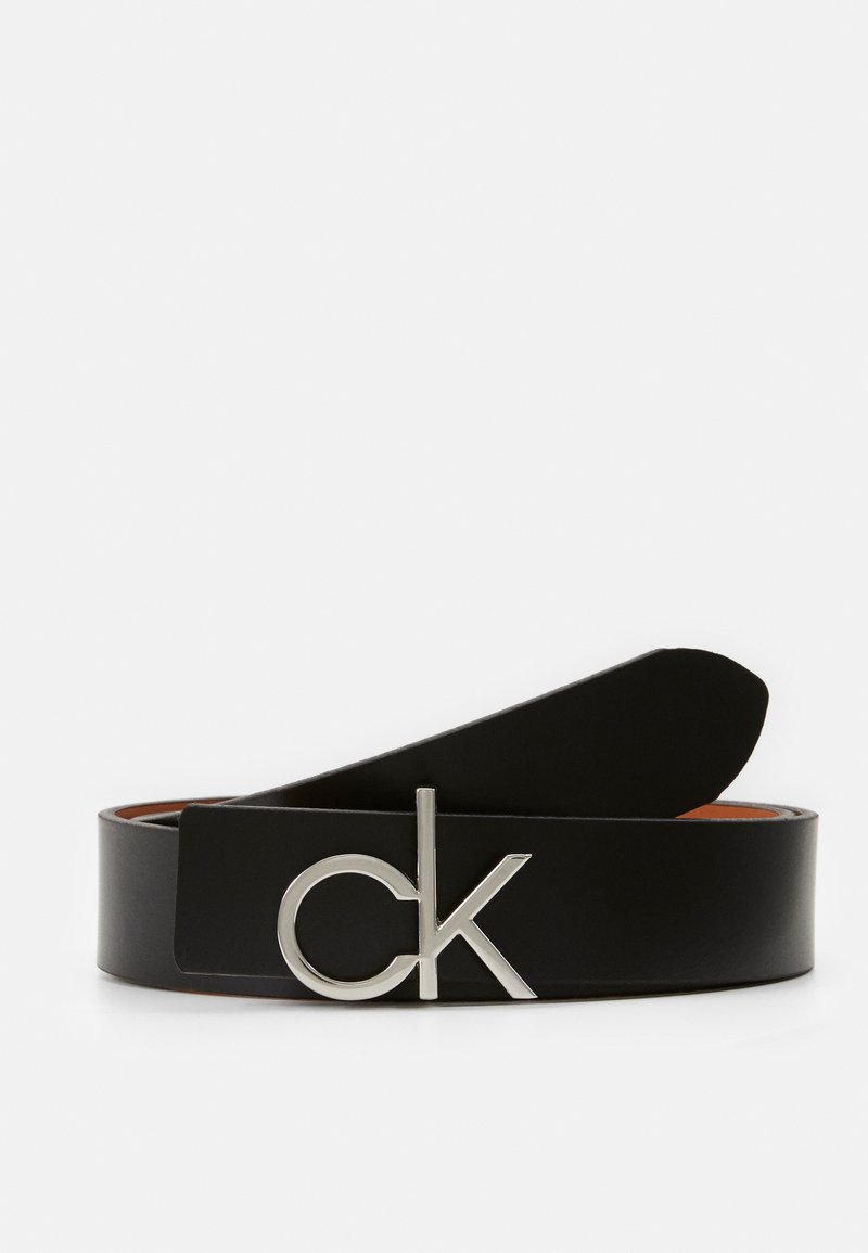 Calvin Klein - LOW GIFTPACK - Ceinture - black/cognac