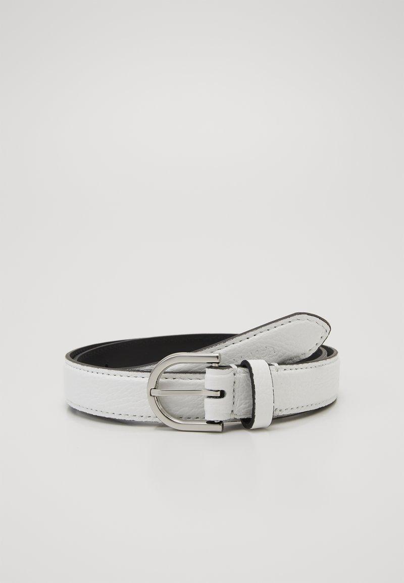 Calvin Klein - EVERYDAY FIX BELT  - Belte - white
